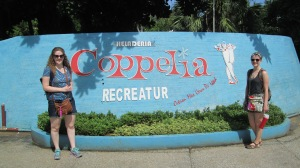A classmate and I at Coppelia in Havana, Cuba.