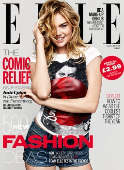 Elle UK magazine cover