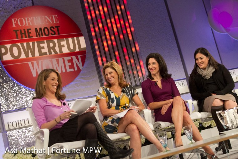 at the Fortune Most Powerful Women Summit in Laguna Niguel, CA.