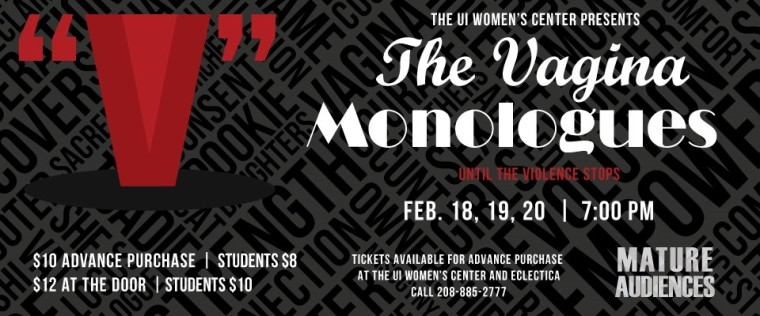 The UI Women's Center presents The Vagina Monologues