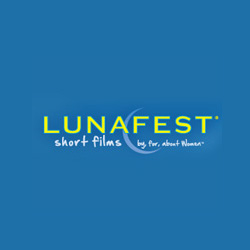 Lunafest Logo for the film festival