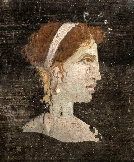 An ancient painting of Cleopatra, Learn more about her here: https://www.amazon.com/Cleopatra-Great-Woman-Behind-Legend/dp/0060585595